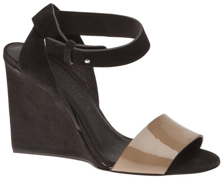 See by Chloe crisscross wedge sandal
