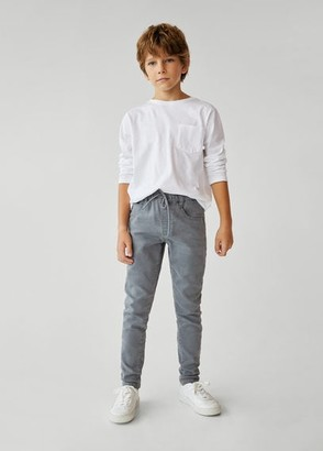 MANGO Comfy-fit jeans