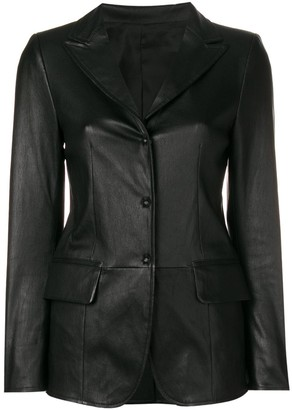 Sylvie Schimmel Lord press stud fitted jacket