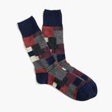 Anonymous IsmTM patchwork crew socks