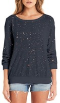 Michael Stars Women's Ripped Sweatshirt