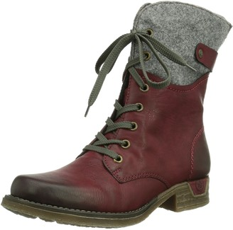 Rieker Women's 79604 Ankle Boots Red (Wine/Granit/36) 3.5 UK