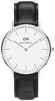 Daniel Wellington Women's Sheffield Silver Watch Black
