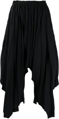Issey Miyake Pleated Wide-Leg Trousers