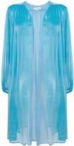 Saint Laurent Pre Owned sheer open blouse