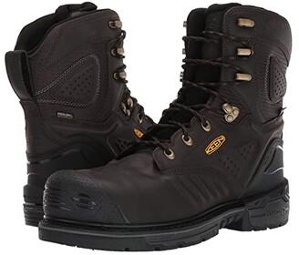 Keen Philadelphia 8 Waterproof Carbon-Fiber Toe (Cascade Brown/Black) Men's Work Boots