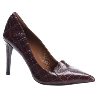 By Malene Birger Burgundy Leather Heels