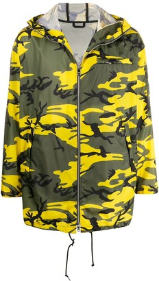 Prada Camouflage Print Jacket