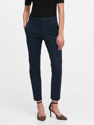 Banana Republic Avery Straight-Fit Washable Bi-Stretch Pant