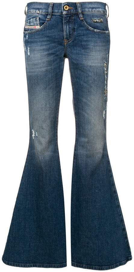 baaa6a25 Diesel Bootcut Jeans For Women - ShopStyle UK