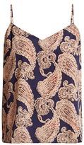 Stella-McCartney-Lingerie STELLA MCCARTNEY LINGERIE Poppy Snoozing paisley-print silk-blend cami top