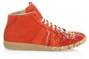 Maison Margiela Paint Splatter Replica Sneakers