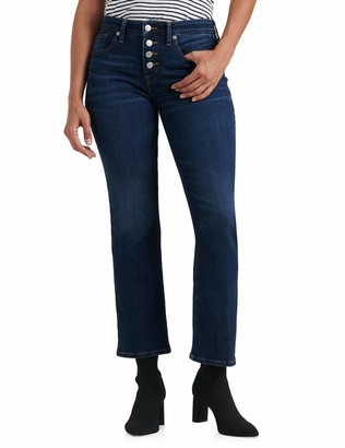 Lucky Brand Women's Mid Rise Ava Crop Mini Bootcut Jean