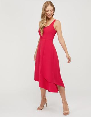 Under Armour Poppy Sustainable Dress with Asymmetric Hem Purple