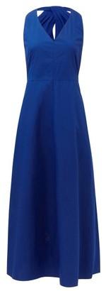 Max Mara Esperia Dress - Womens - Blue