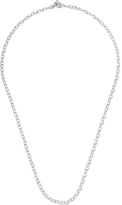 Loree Rodkin 14kt gold diamond small Flinstone chain necklace