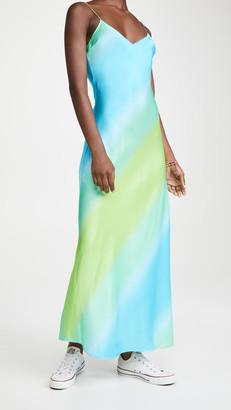 Dannijo Ombre Long Slip Dress