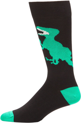 Paul Smith Men's Dino Graphic Knit Socks