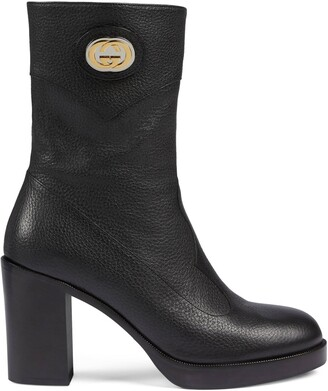 Gucci Women's ankle boot with Interlocking G