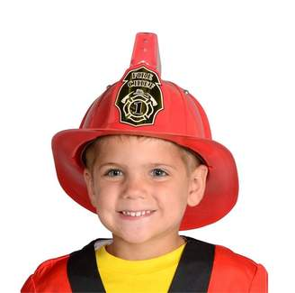 Aeromax Red Firefighter Helmet with Lights and Sound