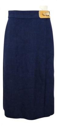 Hermes Blue Viscose Skirts
