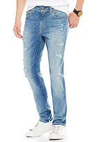 True Religion Rocco Distressed Relaxed Slim-Fit Jeans
