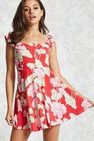 Forever 21 Ruffle Mini Dress