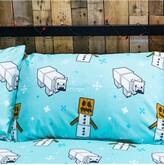 Thumbnail for your product : Minecraft Polar Bear Christmas Double Duvet Cover Set