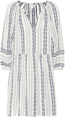 Velvet Nona striped cotton dress