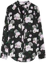 Equipment Liana Floral-print Silk Shirt