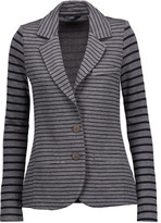 Tart Collections Striped stretch-jersey blazer