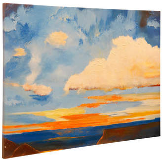 Stylecraft Home Collection Oxidized Skies II, Stretched Canvas Wall Art