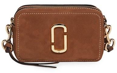 Marc Jacobs The Softshot Suede Camera Bag