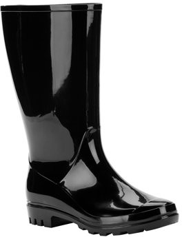 Time and Tru Rain Boot (Women's) (Wide Width Available)