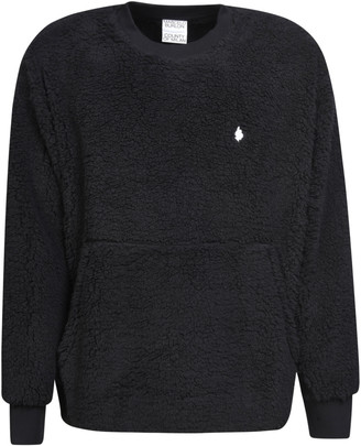 Marcelo Burlon County of Milan Cross Tedy Over Crewneck Sweater