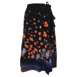 Suno Multicolour Silk Skirts