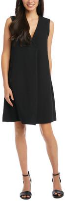 Karen Kane Pleat Front Dress