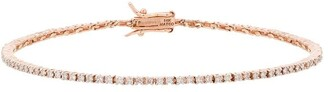 Mateo 14K rose gold diamond tennis bracelet