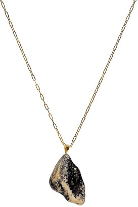 Cvc Stones 18kt yellow gold diamond Feeling necklace