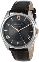 Kenneth Cole New York Men's KC1995 Classic Dial Rose Gold Details Analog Watch
