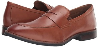 Nunn Bush Fifth Ave Moc Toe Penny Slip-On (Black) Men's Shoes