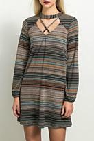 Hem & Thread Crisscross Sweater Dress