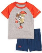 Under Armour Infant Boy's Peanut Pitcher T-Shirt & Shorts Set