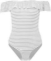Kiomi Print Tshirt white/black