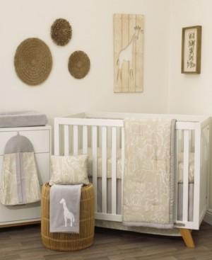 NoJo Modern Safari 8-Piece Crib Bedding Set Bedding