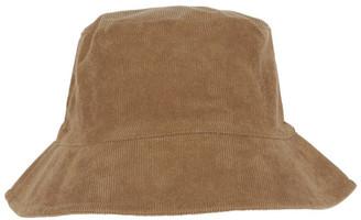 Miss Shop Camel Brown Corduroy Bucket Hat