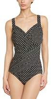 Miraclesuit Women's Caliente Polka Dot Swimsuit