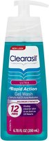 Clearasil Ultra Rapid Action Acne Treatment Face Wash Gel-6.78 oz