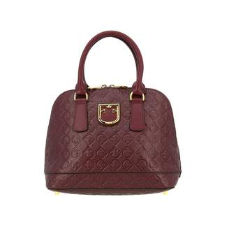 Furla Handbag Fantastica Small Bag In Leather With Ff Monogram