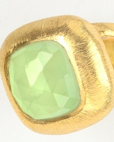 Coldwater Creek Green stone ring